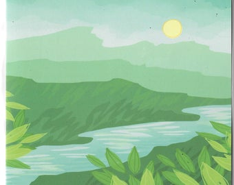 Spring Mountains Greetings Card