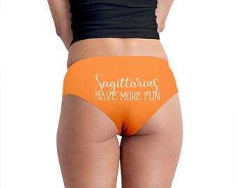 Sagittarius Have More Fun Women's Boyshort Underwear