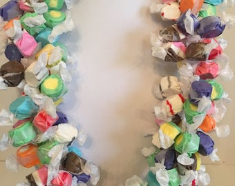 Salt Water Taffy Candy Lei