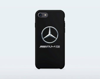 Mercedes Phone Case for iPhone X iPhone 8 Plus 7 Plus iPhone 6 6S Plus iPhone 5 5S SE Samsung Galaxy S7 Edge S8 Plus