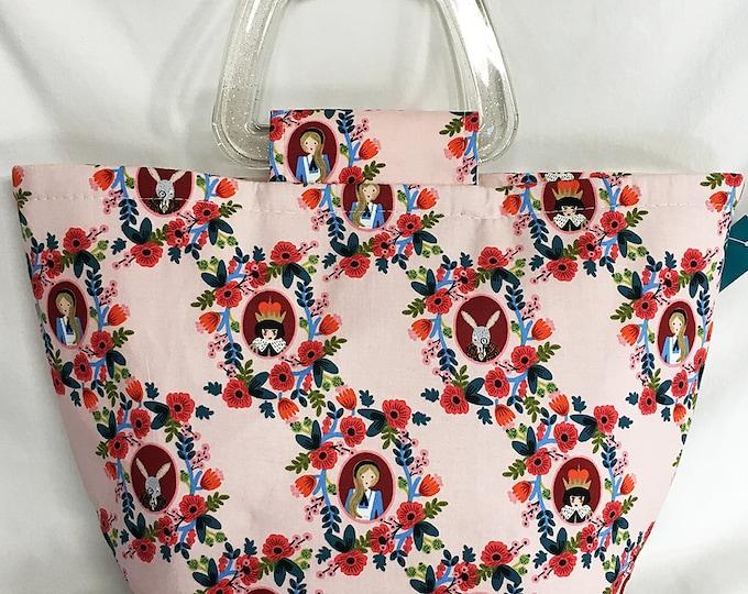 Handbag - Alice In Wonderland Pink