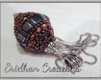 Set of beaded beads - tutorials