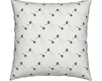Home Decor Pillow Cover, 18 x 18 Pillow, Dandelion Wishes Design