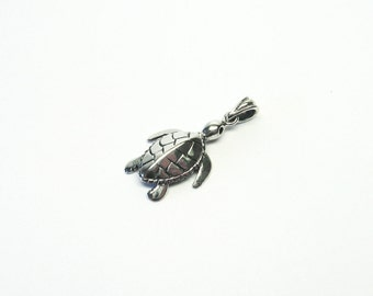 Sea turtle Jewelry Pendant silver 925 turtle