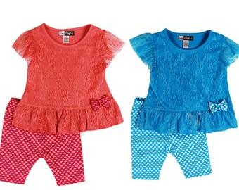 2879- 2PC INFANT lace set