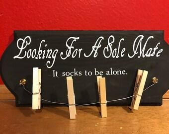 Missing sock sign