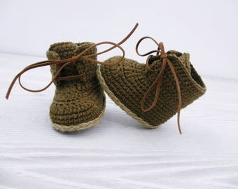 Crochet baby booties Baby shoes Baby boots Crochet shoes, Baby boy, Newborn shoes, Booties crochet, Shoes crochet, Baby boy gift, Newborn