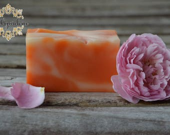 PINK PATCHOULI all natural homemade soap, vegan soap, cold process soap, all types of skin soap