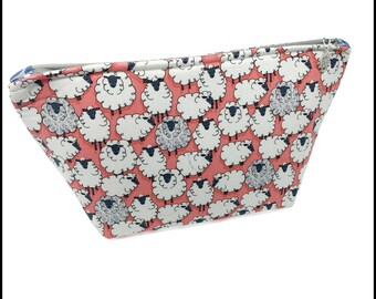 "Wedge ""One of the Flock"" Cosmetic/Accessory Bag"