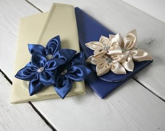 Navy Wedding Clutch. Bridesmaids Clutch. Navy Clutch. Navy Wedding Clutch. Bridesmaid Gift. Navy Clutch.