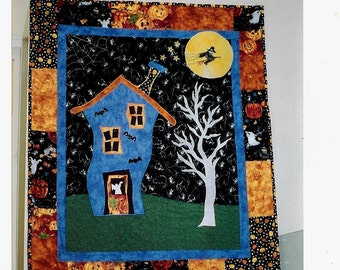 Haunted House Wall Hanging Pattern ONLY