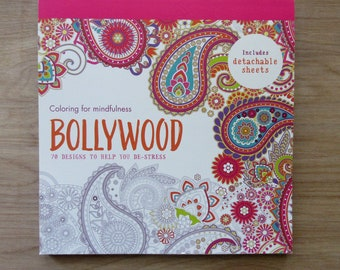 Bollywood Adult Coloring Book~Coloring for mindfulness