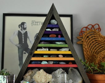 Desktop Chakra Triangle Shelf