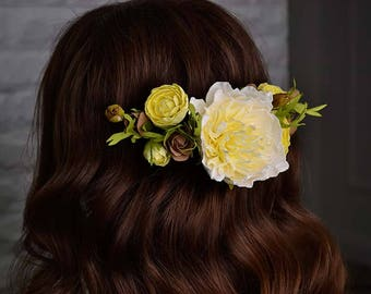 Hair accessoires, wedding flowers