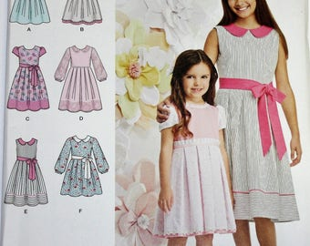 Simplicity Pattern #1211  Size 3 - 6