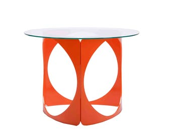 Modern Metal Side/Coffee/End Table -- 5 Bright Color Options