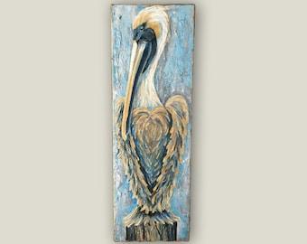 "10""x30"" Pelican Painting"