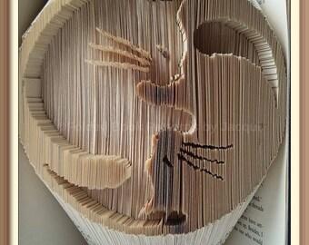 423. Cat Book Folding Pattern - IN A SPIN Yin Yang cats