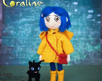 Amigurumi Wybie Doll : Best amigurumi video images crochet animals