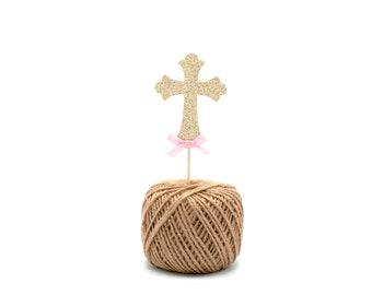 12 Cross Cupcake Picks