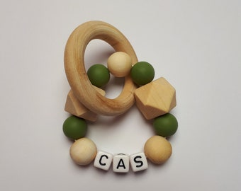 Teether with name