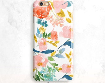 Floral iPhone 8 Case, Floral iPhone X Case,Floral iPhone 7 Case,Floral iPhone 6 Case,iPhone SE Case,Floral iPhone 8 Plus Case,Floral 7 Plus