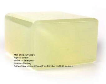 Shaving Soap Big Foam Melt and Pour Base Glycerin 1 Lb Wrapped