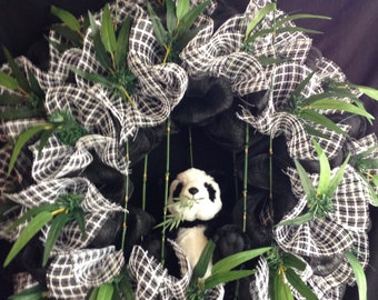 Panda's Bamboo Forest!