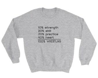 Wrestling Math Sweatshirt