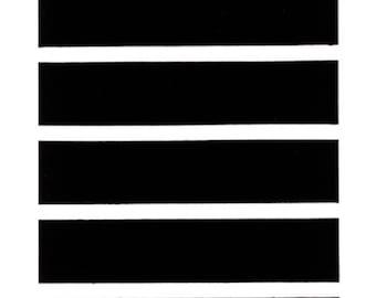 Black Playa Stripe