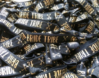 Bride Tribe Elastic Hair Tie / Wrist Band / Hen party Favour