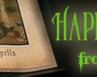 Halloween Spells - Premade Etsy Banner with Avatar