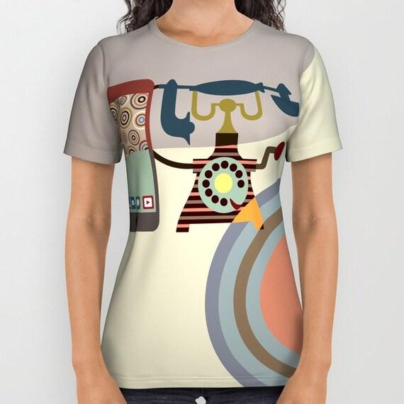 Designer T Shirt For Women,  Unique T Shirt For Men, T Shirt Design For Women, American Apparel, Womens Tees, Mens Tees, Tan, Beige, Cream