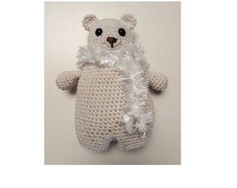 Polar bear crochet amigurumi Ydekado