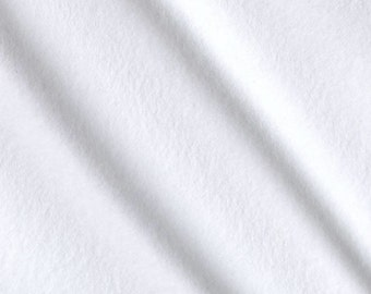 Organic Cotton Flannel, Fabric by the Yard
