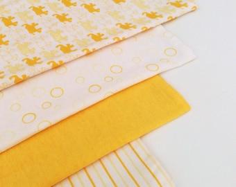 Yellow Baby Wrap, Blanket, Swaddle 100 cm x 120 cm, Soft 100% Cotton
