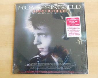 Rick Springfield Hard To Hold Soundtrack Recording  Vinyl Record LP ABL1-4935 RCA Victor Records 1984