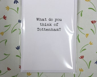 Arsenal / card / occasion / blank /funny / swearing