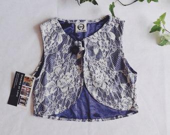 SALE: Lace vest
