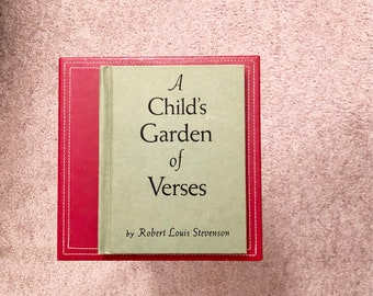 A Child's Garden of Verses Robert Louis Stevenson Illustrated by Eulalie Vintage Child book Excellent Condition