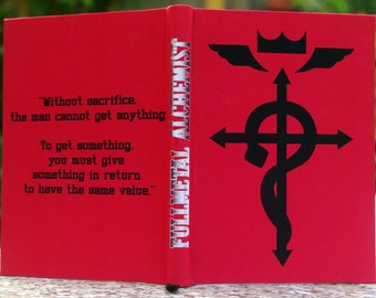 Fullmetal Alchemist Elric Brother Fanmade Sketchbook [A6 Dimension - Blank Pages]