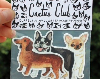 Small Dog Vol. 2 Sticker Pack