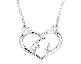 Heart Necklace - Guess How Much I Love You - Guess How Much I love You