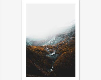 Photography Prints, Scandinavian Prints, Nature Prints, Landscape Photography, Mountain Print, Landscape Canvas, Nature Photography, Nordic