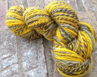 Electronic Thumb - 13% off - The Hitchhiker Ring OOAK handspun BFL 2 ply yarn 204 yards 121g/4.27 oz.