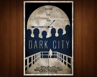 Dark City Poster (Multiple Sizes)