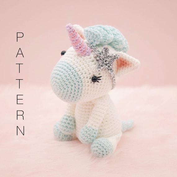 diy licorne crochet