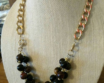 Jasper 2-Layer Necklace