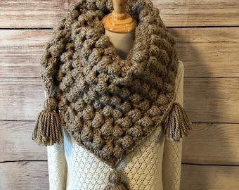 Chunky Crochet Wrap