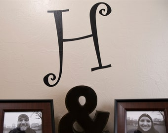 Initial - Wall Decal